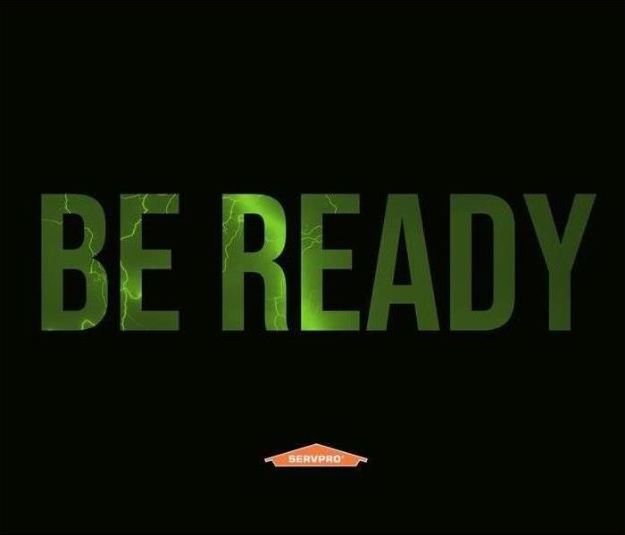 Be Ready with SERVPRO house logo