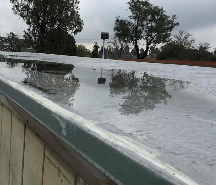 Commercial Standing Roof Water